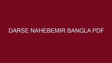 Photo of দরসে নাহবেমীর বাংলা PDF Download❤️(All)